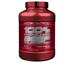 SCITEC 100% Hydrolyzed Beef Isolate 1800g