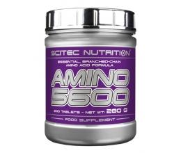 SCITEC Amino 5600 200 tab BB 09/20