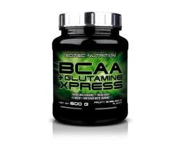 SCITEC BCAA+Glutamine Xpress 600g bubble gum