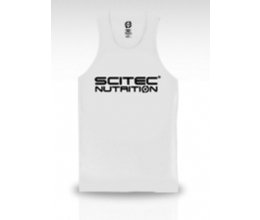 SCITEC Vest Normal WHITE Tank