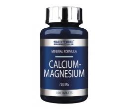 SCITEC Calcium Magnesium 100tab