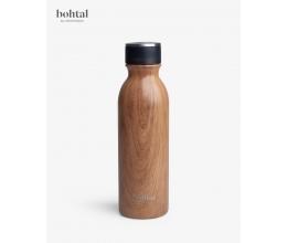SMARTSHAKE Bohtal Insulated Flask - 600 ml Wood