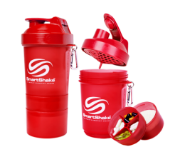 SMARTSHAKE Neon Red 600ml